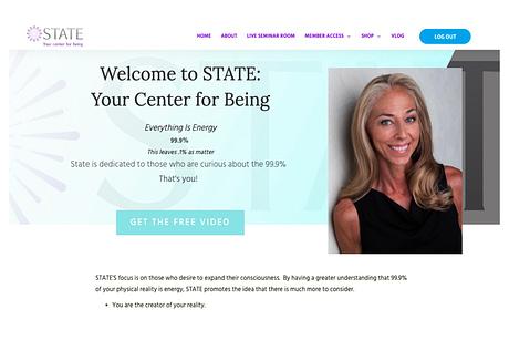 Lisa's Website, Mystateofbeing.org