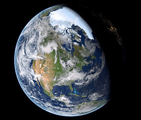 If you boiled the earth down to pure matter it would be the size of a marble!