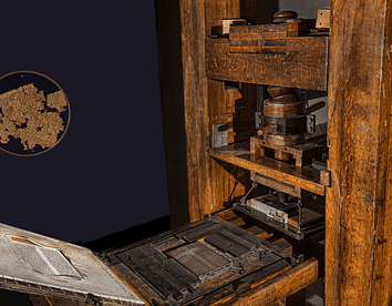 The Gutenberg Press changes the world from 1850 on.
